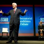 <strong>Corbett</strong>, Wolf hold first debate with taxes, education the main issues