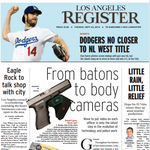 Los Angeles Register to cease publication