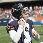 Chicago Bears score a win on the field, but the TV numbers don't move much