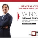 2014 Best Corporate Counsel: General Counsel Small Legal Department