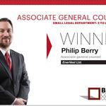 2014 Best Corporate Counsel: Associate General Counsel Small Legal Department