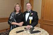 John Haley of Towers Watson with his wife at the 2013 Outstanding Directors Awards.