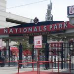 D.C. United beat them to it. Nationals still play ball in a park without a sponsor.