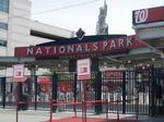 Signs of the times? D.C. bill would allow giant live-action billboards outside Nationals Park.