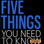 Five things you need to know today, and are Cincinnatians' butts about to get a whole lot bigger?