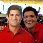 Papa Gino's brings back <strong>Tedy</strong> <strong>Bruschi</strong> to surprise customers for new ads