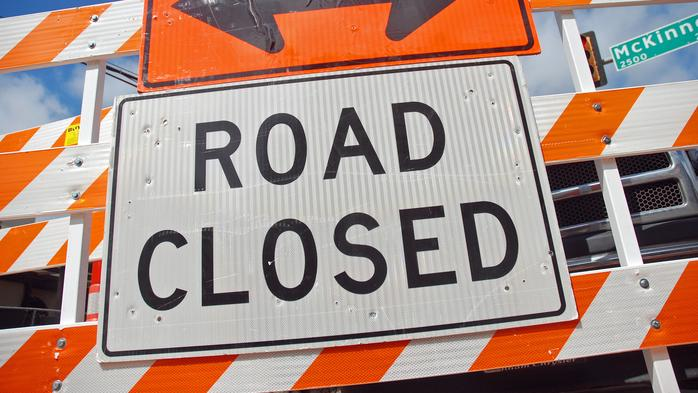 Here's how many Nashville roads have been closed off this year