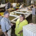 As demand grows, Atrium Windows and Doors adds new production line, building in Davidson County