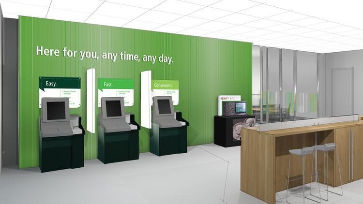 Td Bank Pilots Teller Less Branch Concept Philadelphia