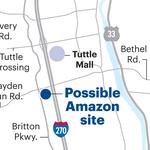 Hilliard hopes to get piece of Amazon