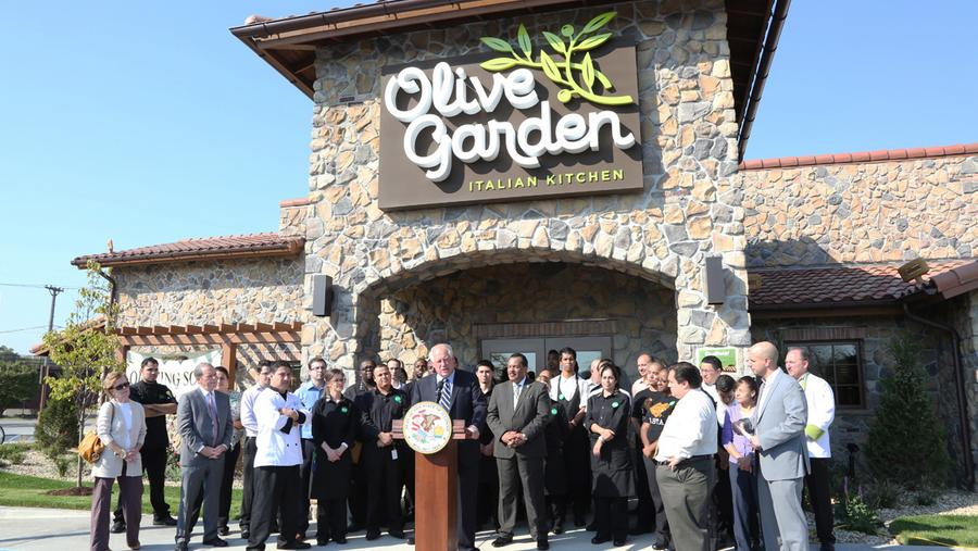 what is the ideal number of olive garden restaurants that youd like to see in the city of chicago - Olive Garden Louisville