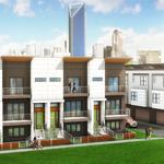 Revolve Residential planning townhome development in South End