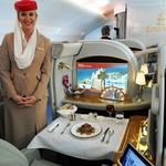 A look inside the luxurious Emirates A380 that touched down at D/FW Airport
