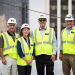 Topping out: Charter Square on track for May 2015 completion