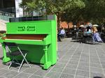 Piano Parking encourages impromptu musical performances in uptown Charlotte (PHOTOS)