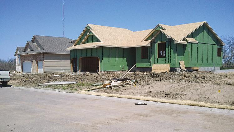 Homes are flying off the market in Wichita but new construction has slowed.