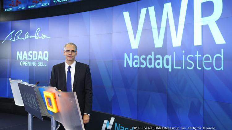 Avantor to buy VWR for $6 4B - Philadelphia Business Journal