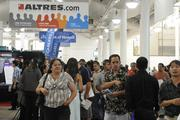 Some 3,500 job seekers turned out at the WorkForce 2013 job fair, where 171 employers were looking to hire.