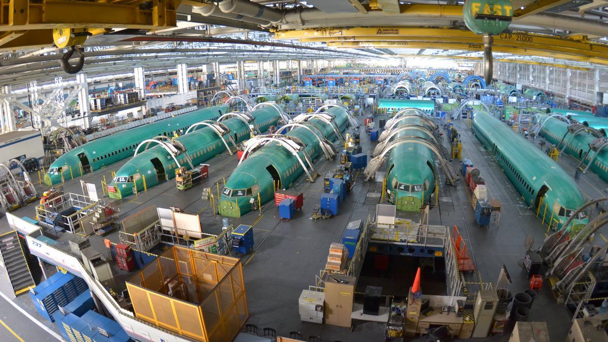 Resultado de imagen para Boeing 737 Spirit Systems