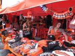 Orioles playoff opener delivers brisk business for street vendors