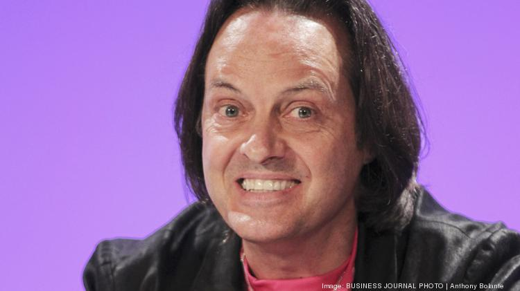 ceo john legere total 2016 compensation 201 million salary