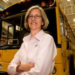 Thomas Built Buses donates bus chassis for after-school NanoBio Bus project