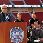 Outdoor ice hockey in Silicon Valley? That'll be the day Levi's Stadium freezes over