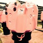 Komen, Baker <strong>Hughes</strong> tap pink drill bits to raise breast cancer awareness in oil patch