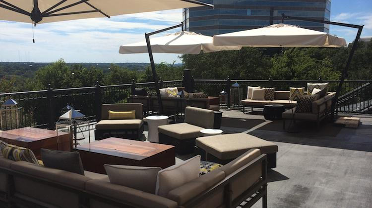 Renaissance Austin Hotel Branches Out With Treehouse Styled Bar