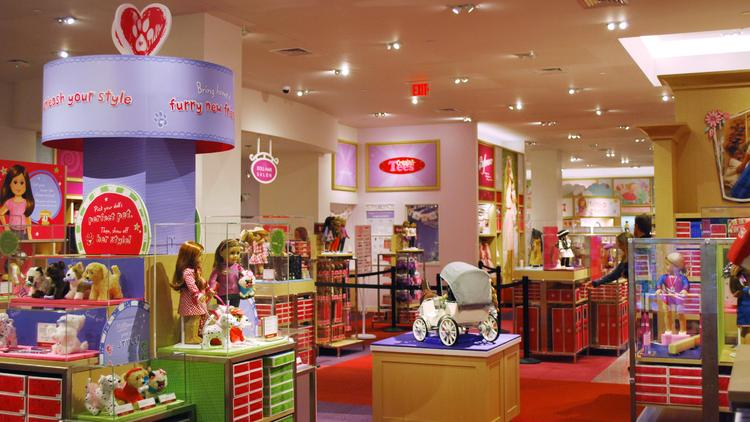 Map of American Girl at Tri County Pkwy, #, Cincinnati, OH store location, business hours, driving direction, map, phone number and other services/5(98).
