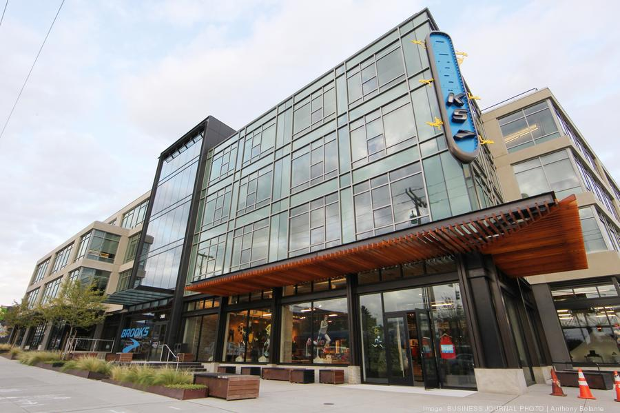 Seattle headquarters and flagship store