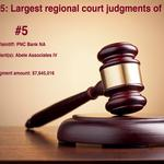 Top 5: Largest regional court judgments of 2013