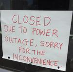 UPDATE: Blame squirrel for downtown power failure