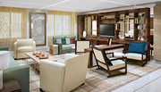 Viking Star's 14 Explorer Suites are two-room suites ranging from 757 to 1,448 sq. ft. and offer sweeping views from wrap-around private verandas as well as the most amenities and privileges of any category onboard.