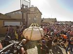 This one-ton pumpkin just broke the North American record at Half Moon Bay
