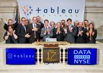 Tableau shares soar in post-IPO trading