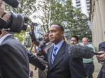 Patrick Cannon exits his Charlotte parking company