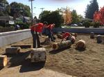 Depave turns parking lot into reading zone at Creston K-8