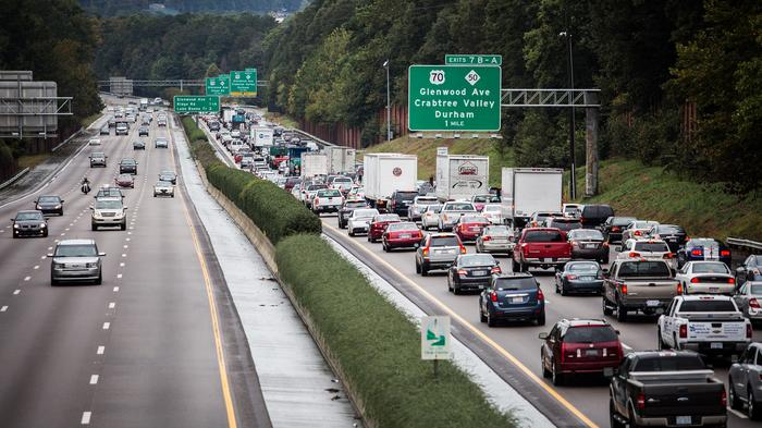 Should slow drivers be fined for driving in the left lane on major highways?