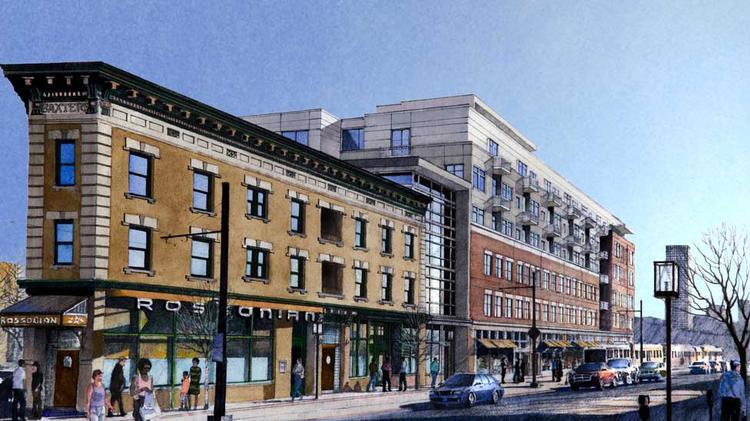Luxury brownstones planned in Denver 39 s Five Points Denver Business Journal