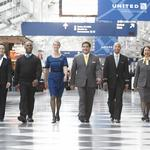 United Airlines employees now slipping into refreshed uniforms