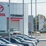 U.S. car sales driving 'auto mile' expansion