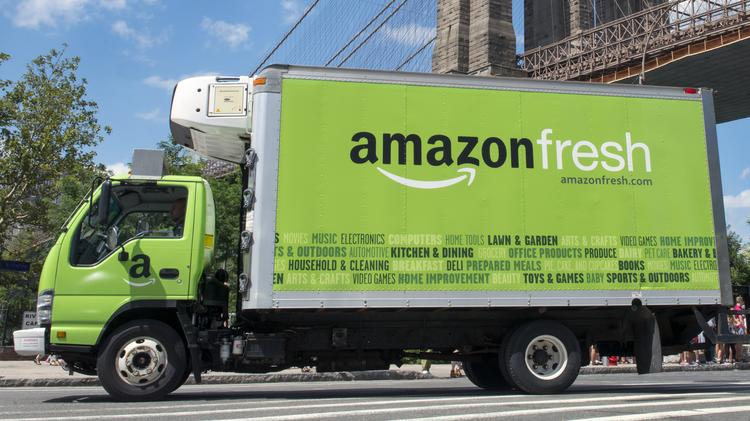Amazon ending grocery delivery service AmazonFresh in Albany