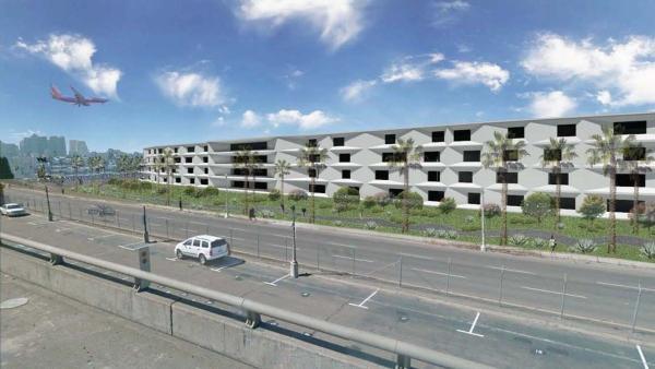 San Diego International Airport Parking Structure