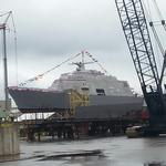 Marinette Marine littoral combat ships, once facing big cuts, looking at better waters