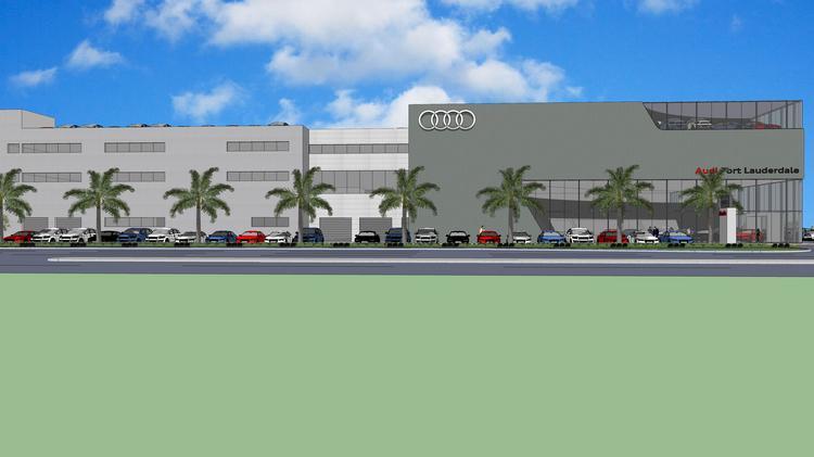 Audi Fort Lauderdale Dealership Breaks Ground South Florida - Audi fort lauderdale