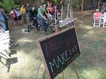 MakeICT, cyclists help power Off the Grid concert at Bartlett Arboretum