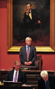 Speaker of the House, Rep. Paul Thissen.