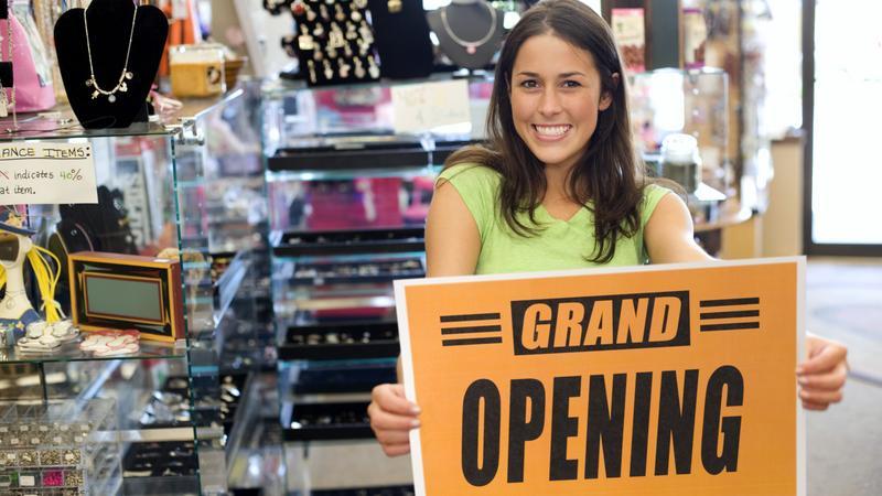 THINKSTOCK Grand Opening New Business