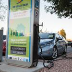 Volta, Sun Valley Solar team on  electric vehicle charging stations